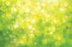 Vector green sunshine background.