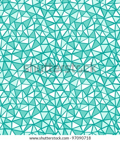 Vector green triangle pattern