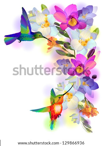 vector greeting background with