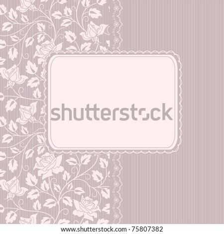 vector greeting  frame