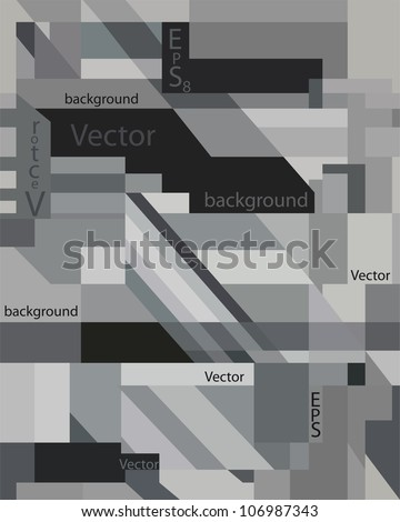 Vector grey abstract art background pattern for texture, backdrop, design element, wallpaper,   illustration, decoration, banner, ornament, frame, print, image, decor, cute card, eps 8