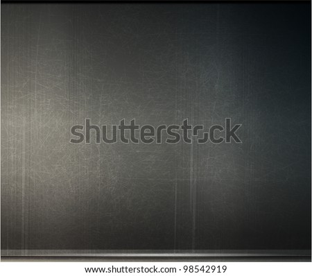 vector grunge background metal plate with screws eps 10
