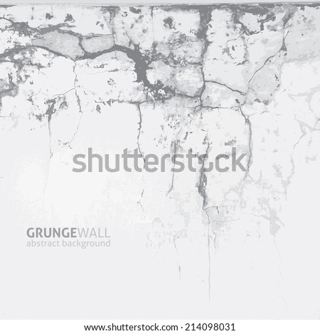 vector grunge background of old