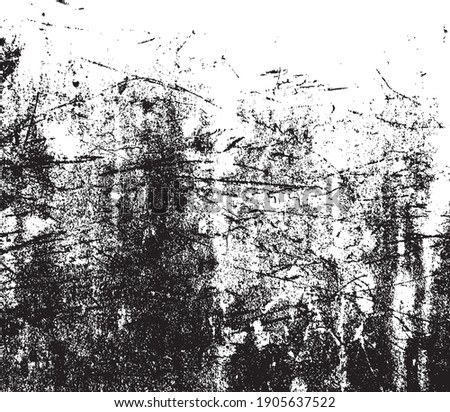Vector grunge black and white abstract background illustration.