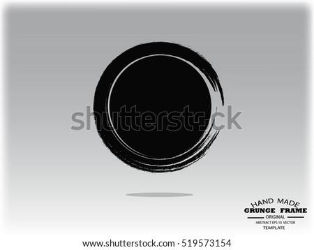 Grunge Camera Vector : Vector rough photo edges set download free vector art stock