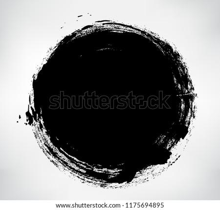 Vector Grunge Circle.Grunge Round Shape. #1175694895