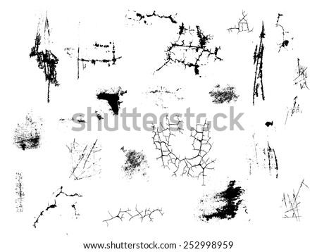 Free Grunge Cracked Texture Vector - Download Free Vectors