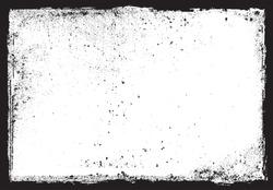 Vector grunge frame.Grunge background.