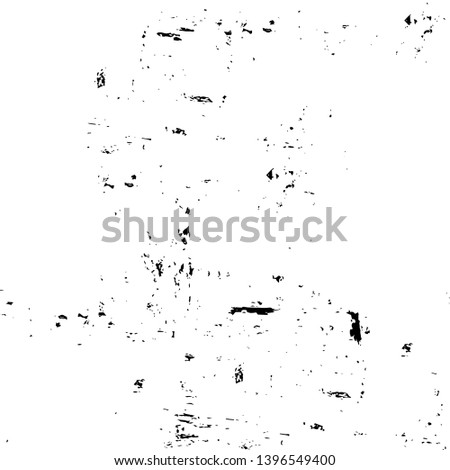 Vector grunge overlay texture. Black and white background #1396549400