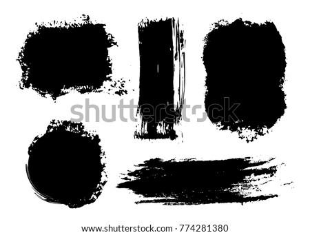 stock-vector-vector-grunge-shapes-grunge-design-elements