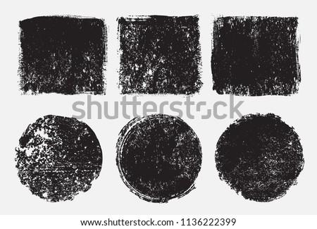 Vector grunge stamps.Grunge backgrounds. #1136222399