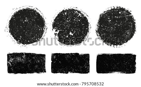 Vector Grunge Stamps.Grunge Design Elements.