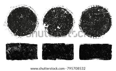 Vector Grunge Stamps.Grunge Design Elements.