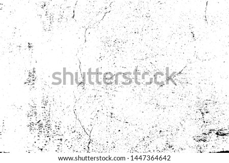 Vector grunge texture, a cracked painted wall. Abstract background. Overlay illustration over any design to create grungy effect. For posters, banners, retro and urban designs.
