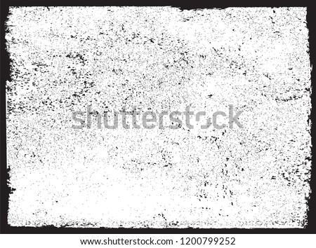 Vector grunge texture.Abstract grunge frame. #1200799252