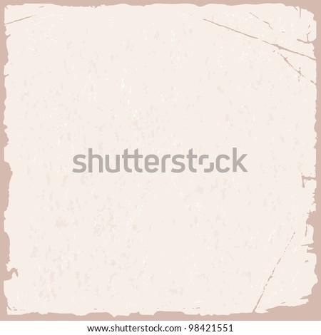 Vector grunge texture of pink old paper
