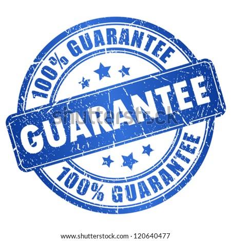 Vector guarantee stamp Stock photo ©