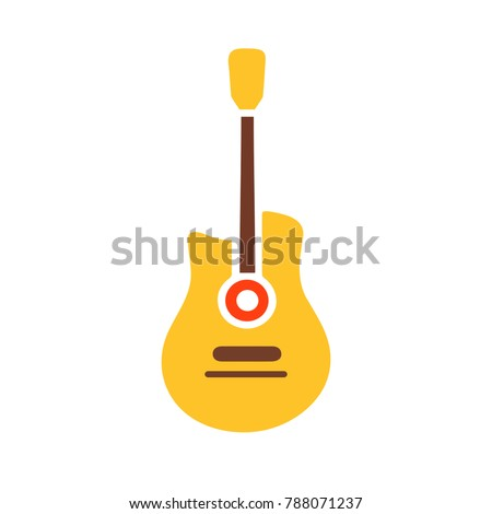 vector guitar - music icon