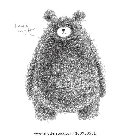 stock-vector-vector-hairy-bear