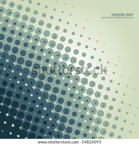 vector halftone background design illustration