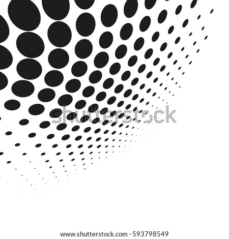 Blue halftone dots vector pattern download free vector - Toile plafond a peindre ...