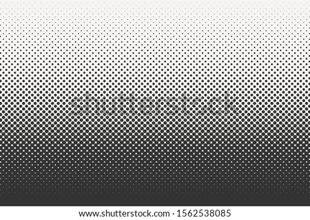 Vector halftone dots background. Black and white comic pattern. EPS 10 Foto stock ©