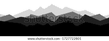 vector halftone dots background