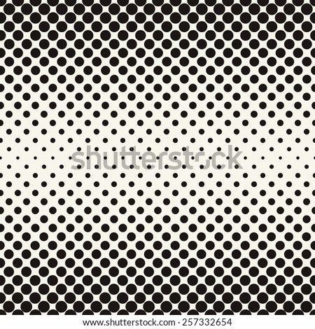 vector halftone dots black
