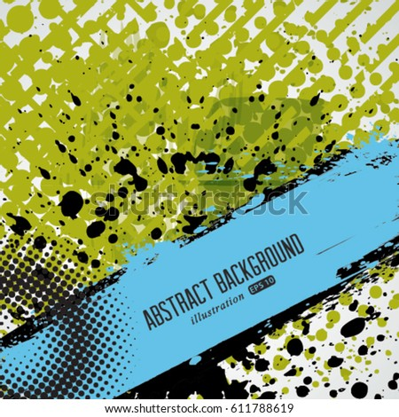Vector halftone dots pattern . Halftone dotted grunge texture . Abstract dots overlay texture . Light distressed background with halftone effects.