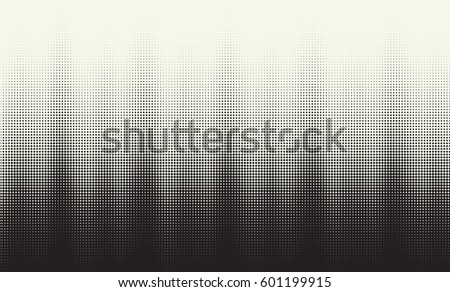 Vector halftone gradient. Abstract vibrant background.