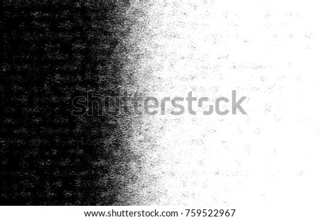 Vector halftone gradient pattern made of dots with randomized circles. Vector.