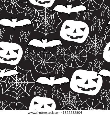 vector halloween invers