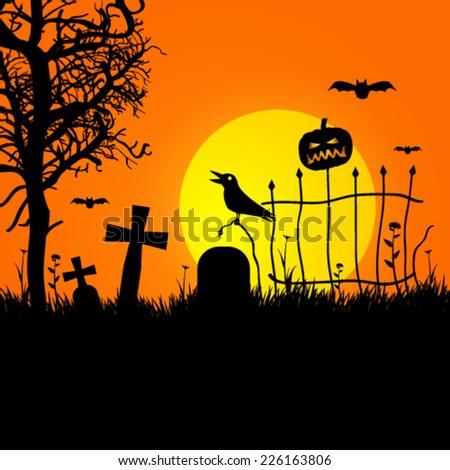 vector halloween spooky