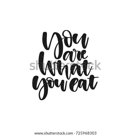 Inspirational Quote About Life Positive Phrase Modern Calligraphy