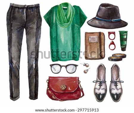de09b59225a4 Free Autumn Clothes Vector - Download Free Vector Art