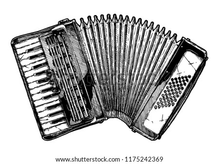 Old Style Drawing Musical Instruments - Download Free