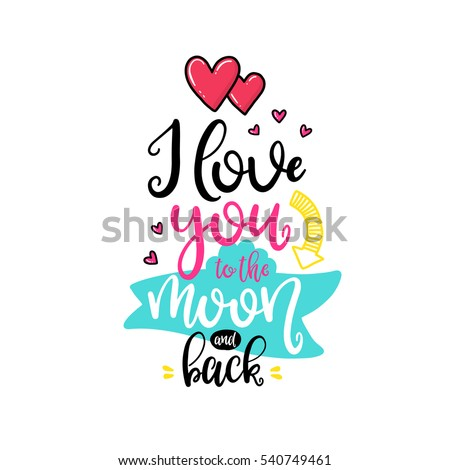 stock-vector-vector-hand-drawn-lettering-poster-creative-typography-card-with-phrase-hearts-and-decor-elements