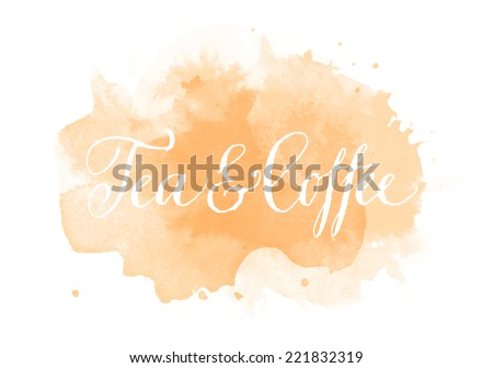 Abstract watercolor stain download free vector art stock graphics