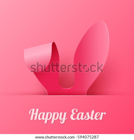 vector happy easter greeting