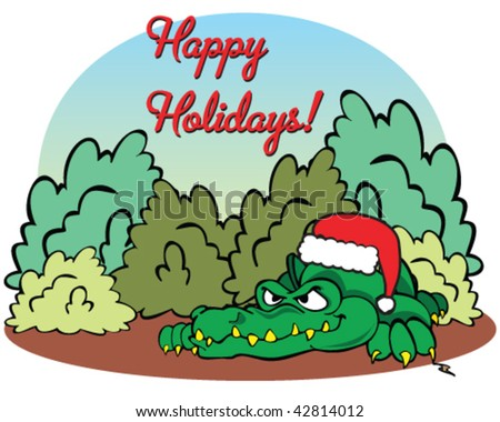 vector happy holidays from