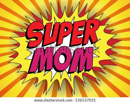 vector   happy mother day super