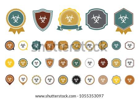 vector hazard icon