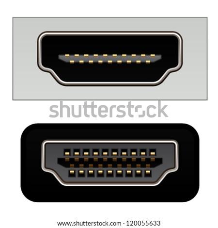 vector hdmi digital video connectors