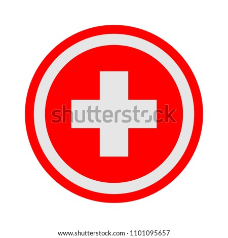 vector healthcare plus sign