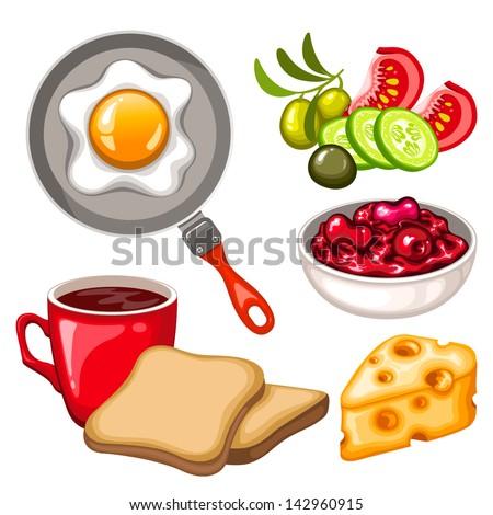 Fast Icon Vector Vector Healthy Breakfast Icon