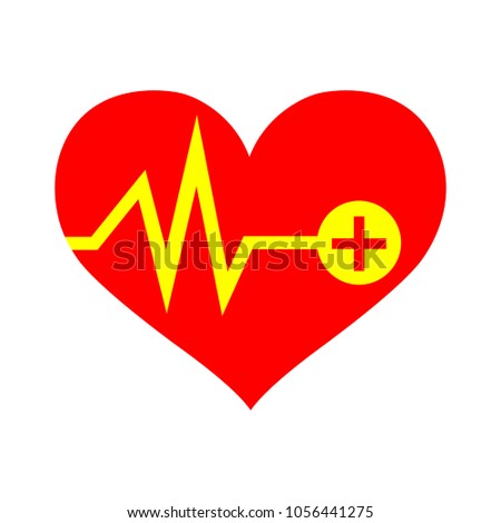 vector Heartbeat icon