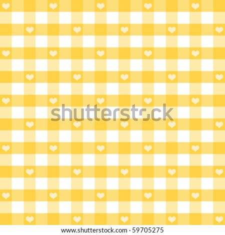 vector   hearts   gingham
