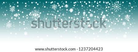 vector heavy snowfall