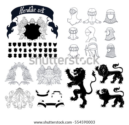 Lion Coat Of Arms Download Free Vector Art Stock Graphics Images