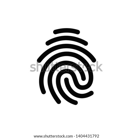 vector high quality fingerprint